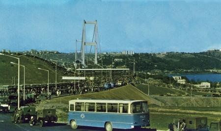 İstanbul Boğaziçi Köprüsü Yapımı