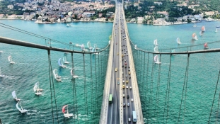 İstanbul'a, Boğaziçi Köprüsünün Zirvesinden Bakalım!